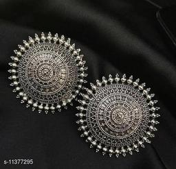 German Silver Premium quality stud Earrings for women & girls