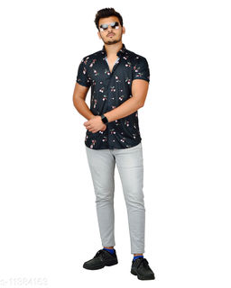 IMPORTED LYCRA MENS SHIRTS