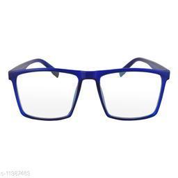 RN Blue Wayfarer Big Shape UV protected Computer Glasses Frame Sunglasses