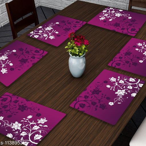LooMantha Printed Table Placemat Pack of 6