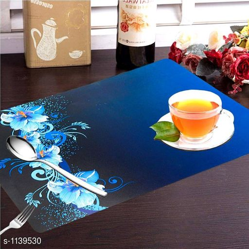 Stylish PVC Table Placemats ( Pack Of 6 )