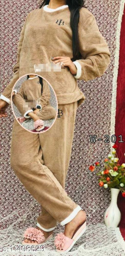 Women's Jaipuri Fleece Nightdress