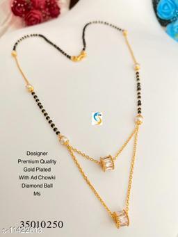 GOLD PLATED AD CHOWKI DIAMOND LAYER BALL MS