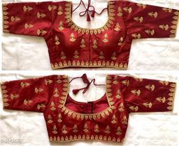 Designer Phantom Silk Blouse