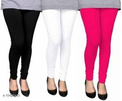 Fancy Galamarous Women Leggings Pack of 3
