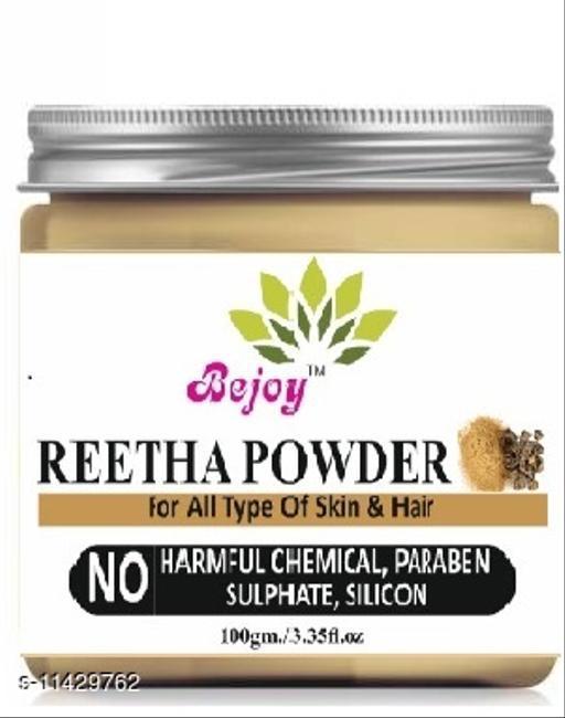 Bejoy 100% Pure And Natural Reetha Powder 100 Grams