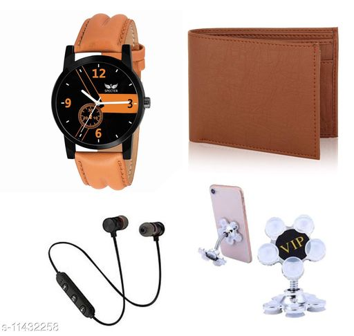 Combo Of Watch and Mobile Accessories