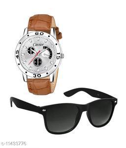 Watch With Sunglass Combo