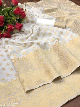 Jamdani Spun Cotton Designer Saree