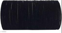 NEW KIRANON COLLECTION BANGLE BLACK (SET OF 48 PCS)