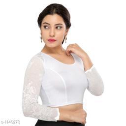 Ethnic Cotton Lycra Blouse