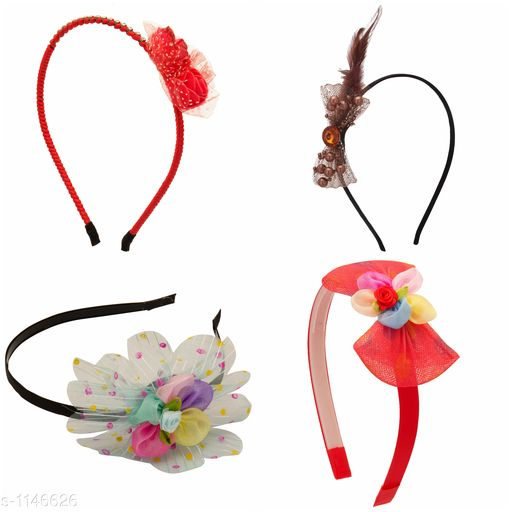 Tools & Accessories Standard Choice Hair Accessories Combo  *Product Name* Combo Pack Of Hair Accessories For Kids Girl's  *Product Type* Hair Accessories  *Material* Metal, Plastic & Net  *Description* It Has 1 Pack Of Combo Hair Accessories Products  *Sizes Available* Free Size *    Catalog Name:  Premium Choice Hair Accessories Combo Vol 2 CatalogID_142466 C50-SC1250 Code: 143-1146626-