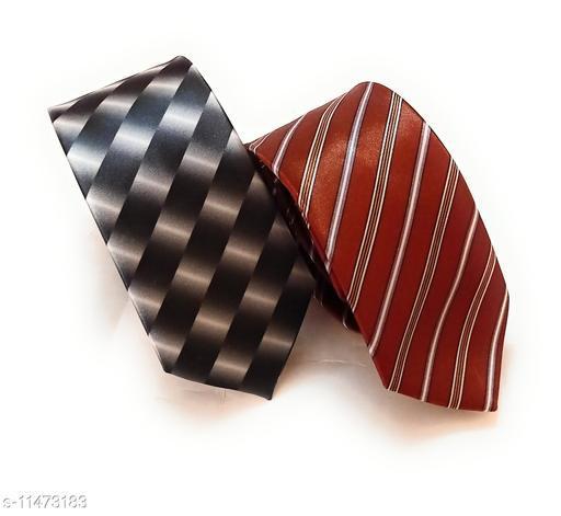 printed ties-pack of 2
