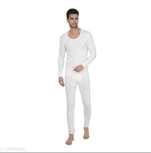Neeba Men's Cotton Thermal Set (N-Men_Set_Off.White_85)