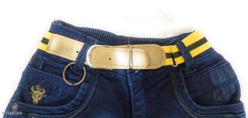 Cute elastic belts