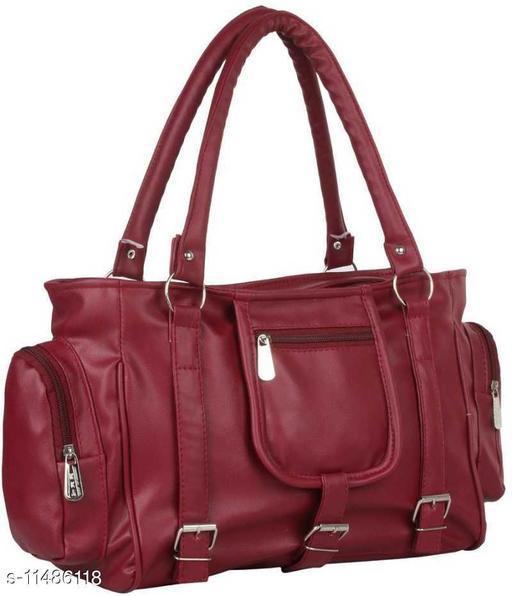 Maroon Hand Messenger Bag