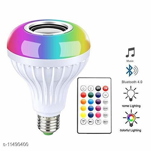 LED Music Light Bulb, B22 led Light Bulb with Bluetooth Speaker RGB Self Changing Color Lamp Built-in Audio Speaker for Home, Bedroom, Living Room, Party Decoration