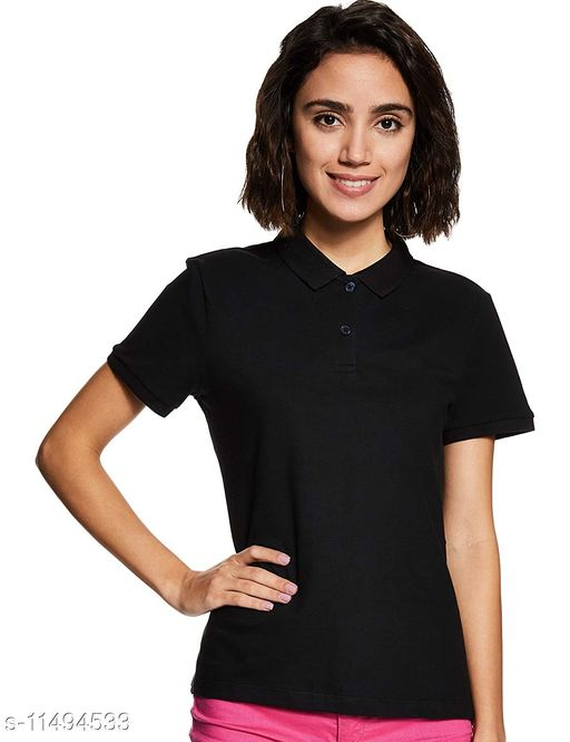 Tribe Fashion Polo Cotton T-shirt for Women