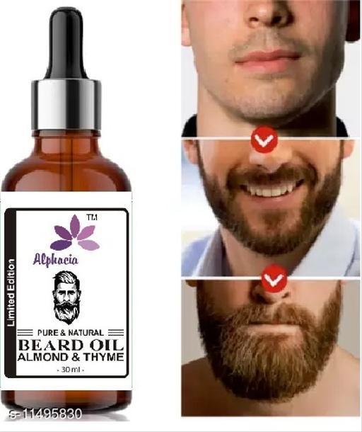 new trend men beard oil