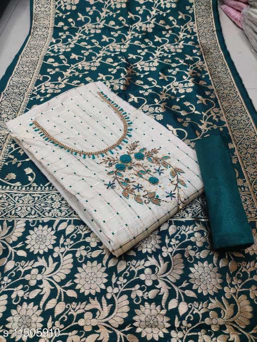 Aakarsha Voguish Semi-Stitched Suits