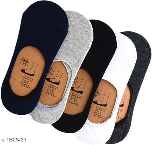 stylish trendy men ankle lenth loffer socks(pack of 6)