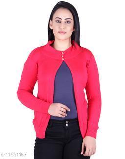 Ogarti woollen full sleeve round neck Rani Colour Women's  Shrug