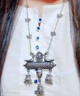 Beautiful Latest Oxidised Necklace for Women and Girls