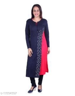 Ogarti woollen full sleeve Women's Kurti