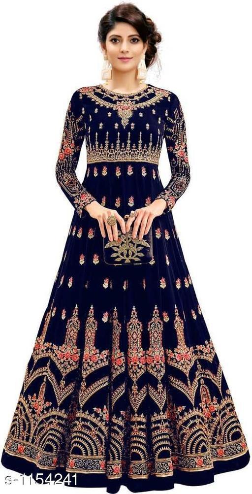 Voguish Phantom Silk Gown
