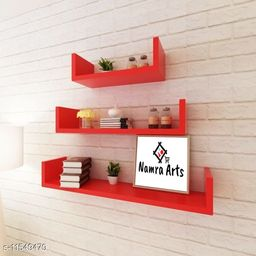 Namra Arts Wall Mount Wall Shelf Wall Rack Wall Shelves for Living Room/Home/Kitchen for Home Décor