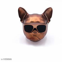 Bull Dog Wireless Bluetooth Super Bass Speaker in Metallic Brown Color