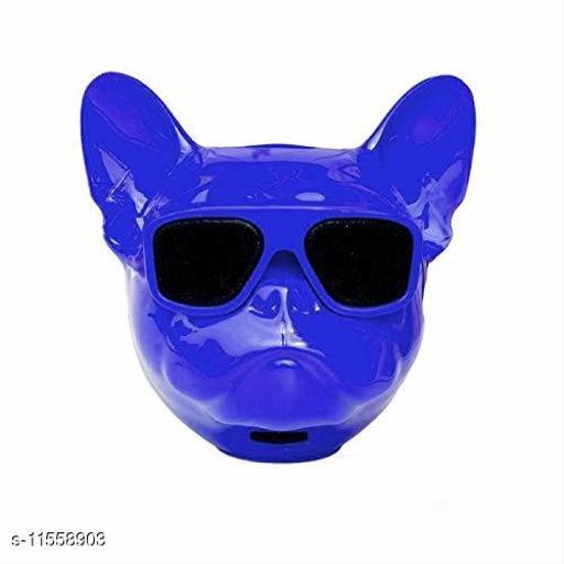 Wireless Bluetooth Super Bass Speaker in Metallic Blue