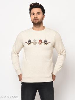 98 Degree North Off White Sustainable Sweatshirt