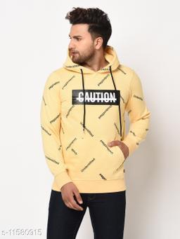 98 Degree North Yellow Sustainable Sweatshirt