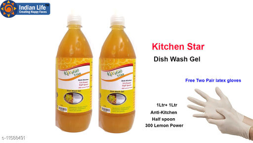 Others Kitchen Star dish gel Kitchen Star dish gel Country of Origin: India Sizes Available: Free Size    Catalog Name: Kitchen Star dish gel CatalogID_2184008 C82-SC1308 Code: 104-11588491-