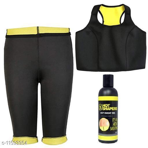 Play Run Tummy Control Pant Bra With Gel  Size:- 32-XL