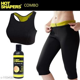 Play Run Slimming Hot Shaper Bra/Pant With Gel   Size:- 32-XL