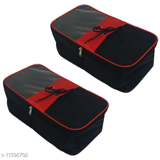 Trendy Shoe Covers Storage Box Organizer For Men / Women - Pack of 2