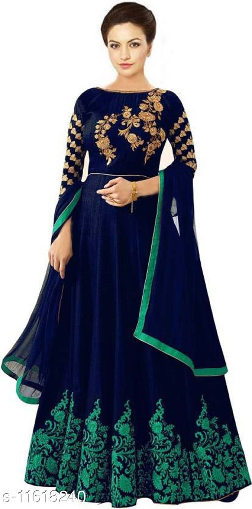 Zima Women Flare Blue Dress