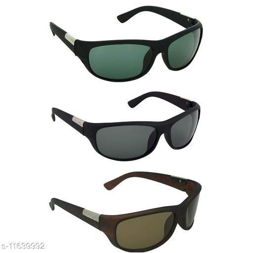 Davidson Combo of 3 Sports Sunglasses