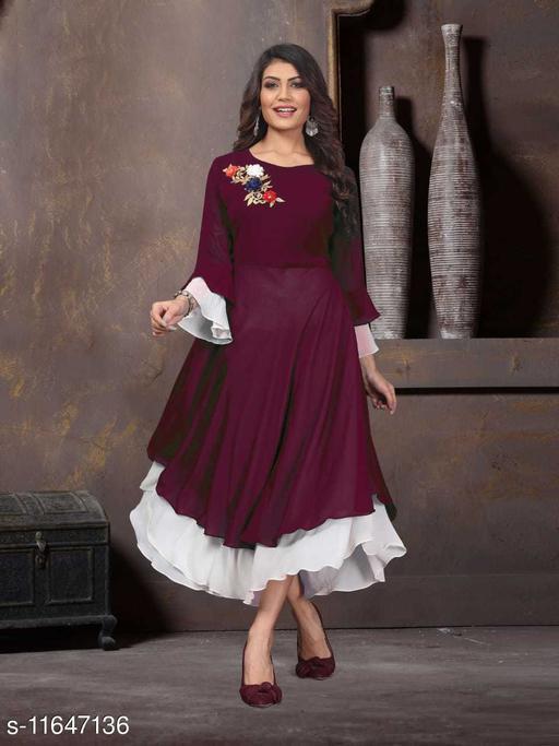 Stylish Glamorous Women Gown