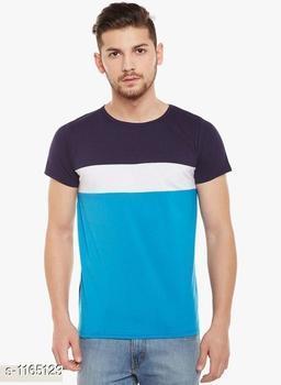 Trendy Poly Cotton T-Shirt
