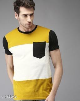 Trendy Partywear Cotton Blend Men's T-Shirt