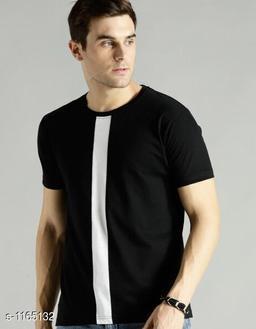 Casual Cotton Blend Mens T-Shirt