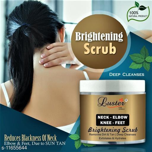 Luster Neck-Elbow & Knee-Feet Brightening Scrub-100ml