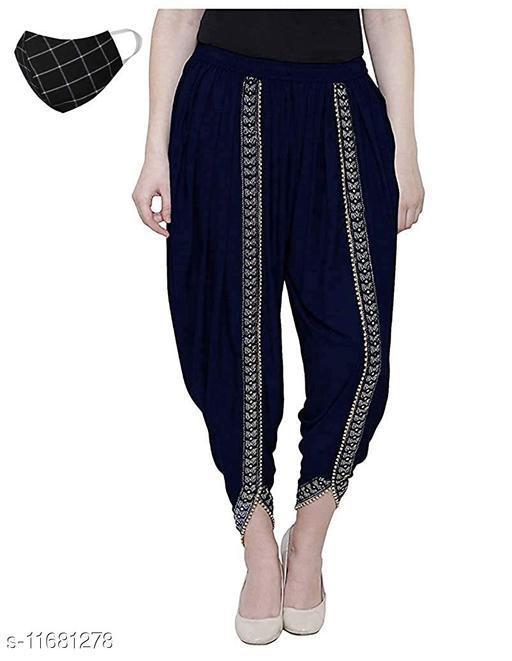 Sakhi Shine Fashionable Rayon Dhoti