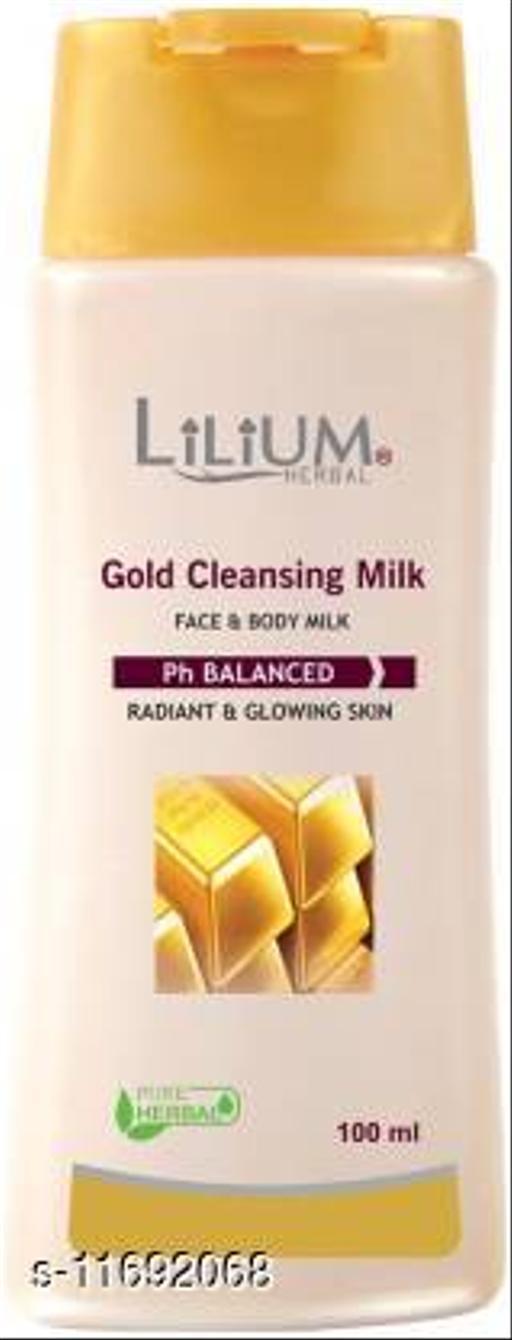 LILIUM Lilium Gold Cleansing Mlik 100ml (100 ml)