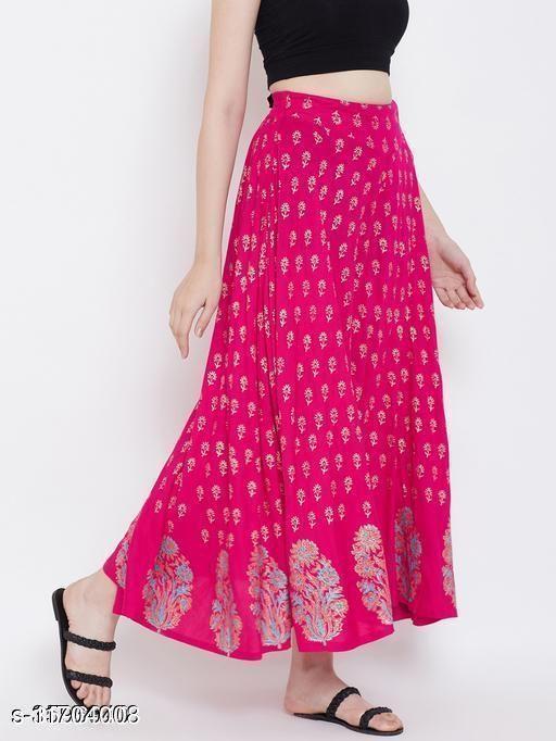 Trendy Rayon Women's Skirt