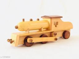 LakdiBazar Wooden Toy Train Engine Miniature