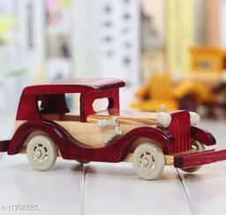 Wooden Antique Car Miniature